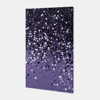 Thumbnail image of ULTRA VIOLET Glitter Dream #2 #shiny #decor #art  Canvas, Live Heroes