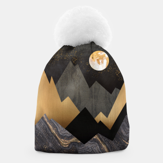 Thumbnail image of Metallic Night Beanie, Live Heroes