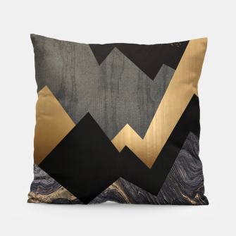 Thumbnail image of Metallic Night Pillow, Live Heroes