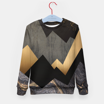 Thumbnail image of Metallic Night Kid's sweater, Live Heroes
