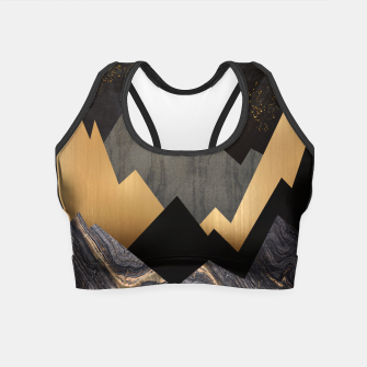 Miniature de image de Metallic Night Crop Top, Live Heroes