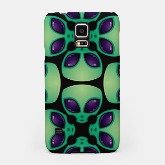 Thumbnail image of Alien Head Pattern Samsung Case, Live Heroes