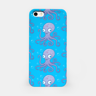 Thumbnail image of Silly Octopus Cartoon Pattern iPhone Case, Live Heroes