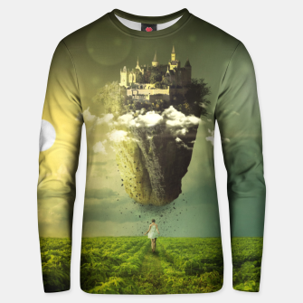 Thumbnail image of Floating Castle Unisex sweater, Live Heroes