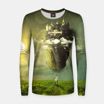 Thumbnail image of Floating Castle Women sweater, Live Heroes