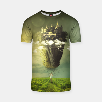 Thumbnail image of Floating Castle T-shirt, Live Heroes