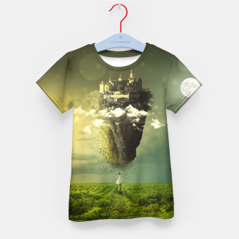 Thumbnail image of Floating Castle Kid's t-shirt, Live Heroes