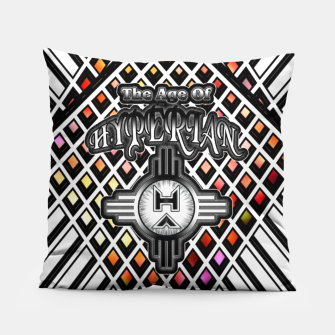 Thumbnail image of The Age Of Hyperian GEO3 Pillow, Live Heroes