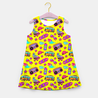 Thumbnail image of Old-times fun / Yellow Girl's summer dress, Live Heroes