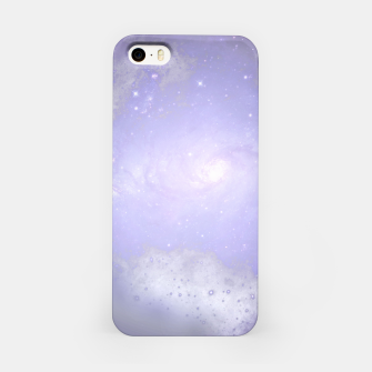 Miniaturka Purple Galaxy Texture iPhone-Hülle, Live Heroes