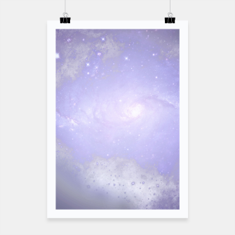 Thumbnail image of Purple Galaxy Texture Plakat, Live Heroes