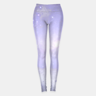 Miniaturka Purple Galaxy Texture Leggings, Live Heroes