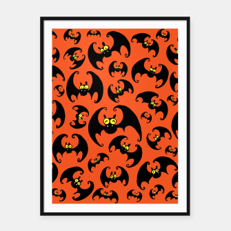 Thumbnail image of BATS! Framed poster, Live Heroes