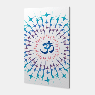 Thumbnail image of Ohm mandala or Sri Chakra energy generator Canvas, Live Heroes