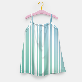 Thumbnail image of Ocean breeze stripe patterns Girl's dress, Live Heroes