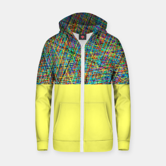 Thumbnail image of kombinat zip-up hoodie, Live Heroes