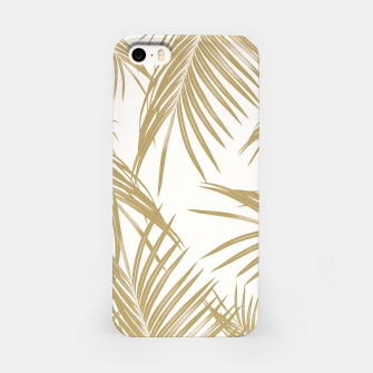 Thumbnail image of Gold Palm Leaves Dream #1 #tropical #decor #art  iPhone-Hülle, Live Heroes