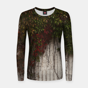 Vine wall Women sweater Bild der Miniatur