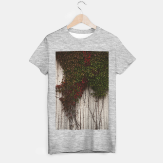 Vine wall T-shirt regular Bild der Miniatur