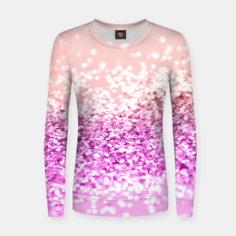 Thumbnail image of Tropical Summer Lady Glitter #3 #shiny #decor #art  Frauen sweatshirt, Live Heroes