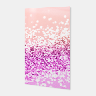Thumbnail image of Tropical Summer Lady Glitter #3 #shiny #decor #art  Canvas, Live Heroes