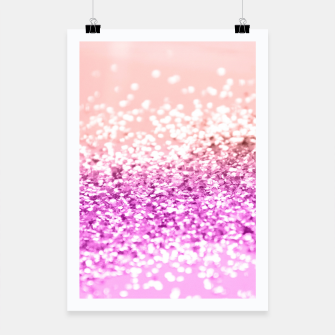 Thumbnail image of Tropical Summer Lady Glitter #3 #shiny #decor #art  Plakat, Live Heroes