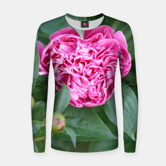 Miniaturka Paeoniae sp. Flower II Women sweater, Live Heroes