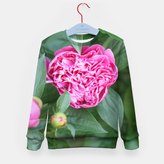 Miniaturka Paeoniae sp. Flower II Kid's sweater, Live Heroes