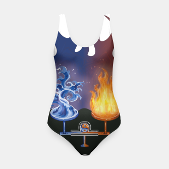 Thumbnail image of Zodiac Sign Libra | Balance between Opposites Swimsuit, Live Heroes