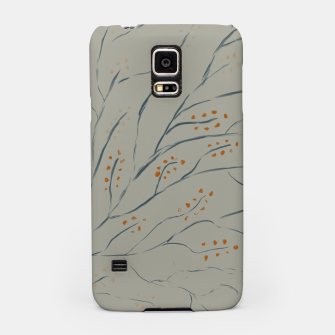 Thumbnail image of Branches on plan grey green Samsung Case, Live Heroes