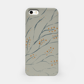 Thumbnail image of Branches on plan grey green iPhone Case, Live Heroes