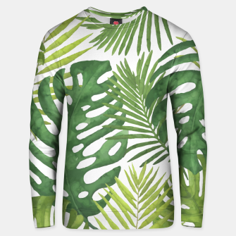 Thumbnail image of Tropicalist Monstera Unisex sweater, Live Heroes