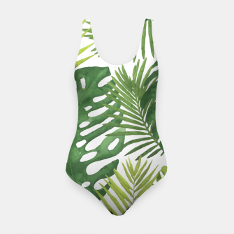 Thumbnail image of Tropicalist Monstera Swimsuit, Live Heroes