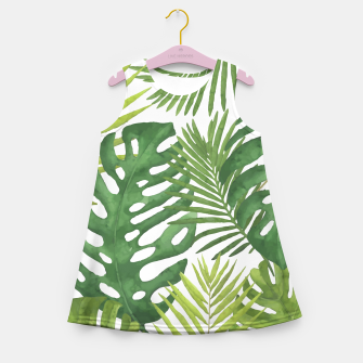 Thumbnail image of Tropicalist Monstera Girl's summer dress, Live Heroes