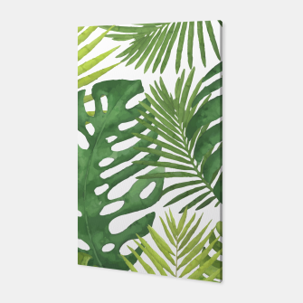 Thumbnail image of Tropicalist Monstera Canvas, Live Heroes