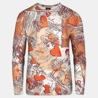 Thumbnail image of Abstract Love Unisex sweater, Live Heroes