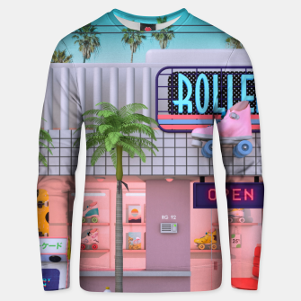 Thumbnail image of Roller Skate Nostalgia Unisex sweater, Live Heroes
