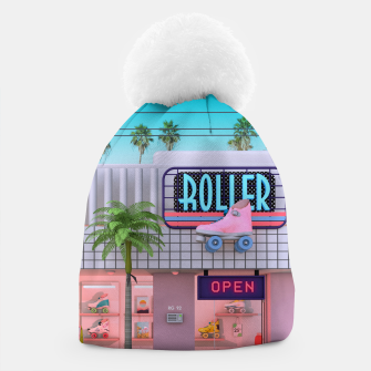 Thumbnail image of Roller Skate Nostalgia Beanie, Live Heroes