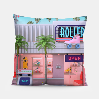 Thumbnail image of Roller Skate Nostalgia Pillow, Live Heroes