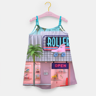 Thumbnail image of Roller Skate Nostalgia Girl's dress, Live Heroes