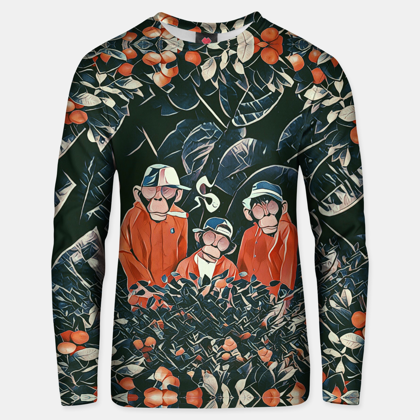 Image of Three monkeys Unisex sweater - Live Heroes