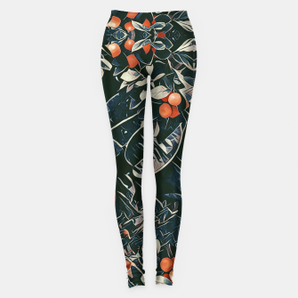 Three monkeys Leggings Bild der Miniatur