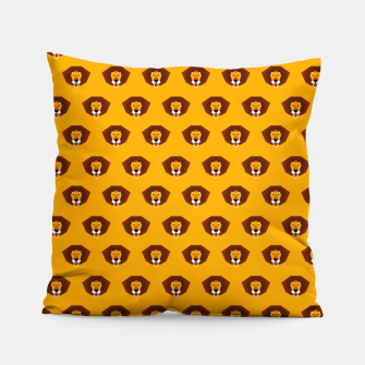 Thumbnail image of Lion King on Yellow – Pillow, Live Heroes
