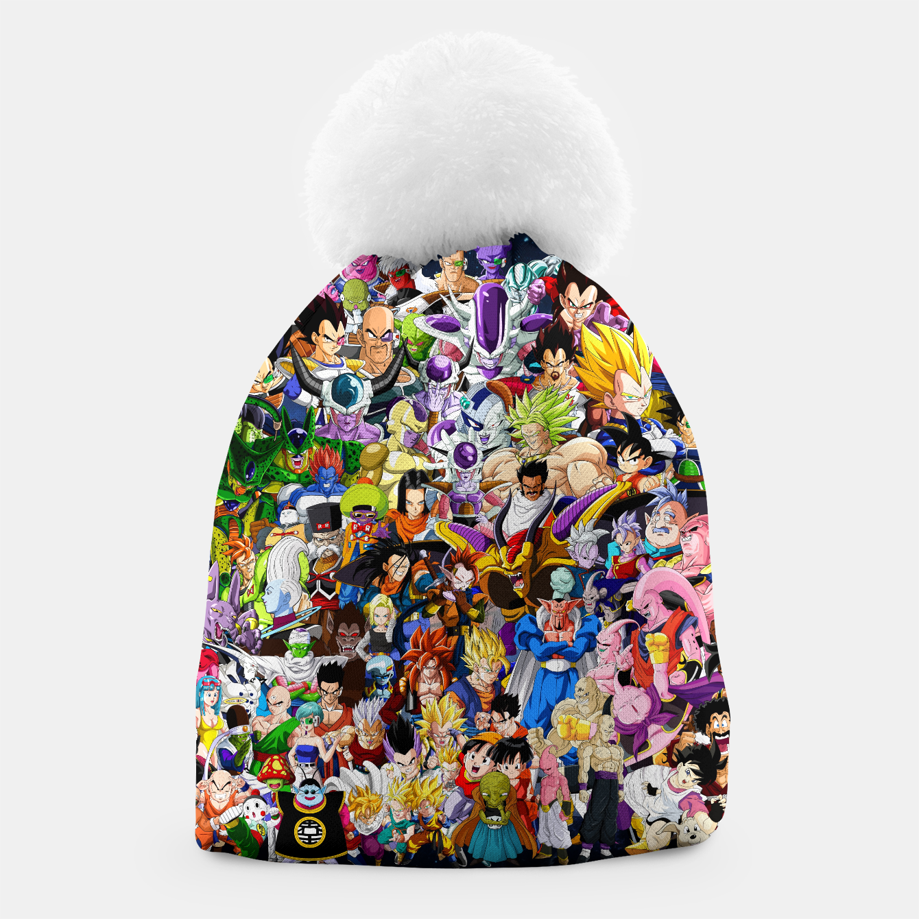 Image of DBZ Characters Beanie - Live Heroes