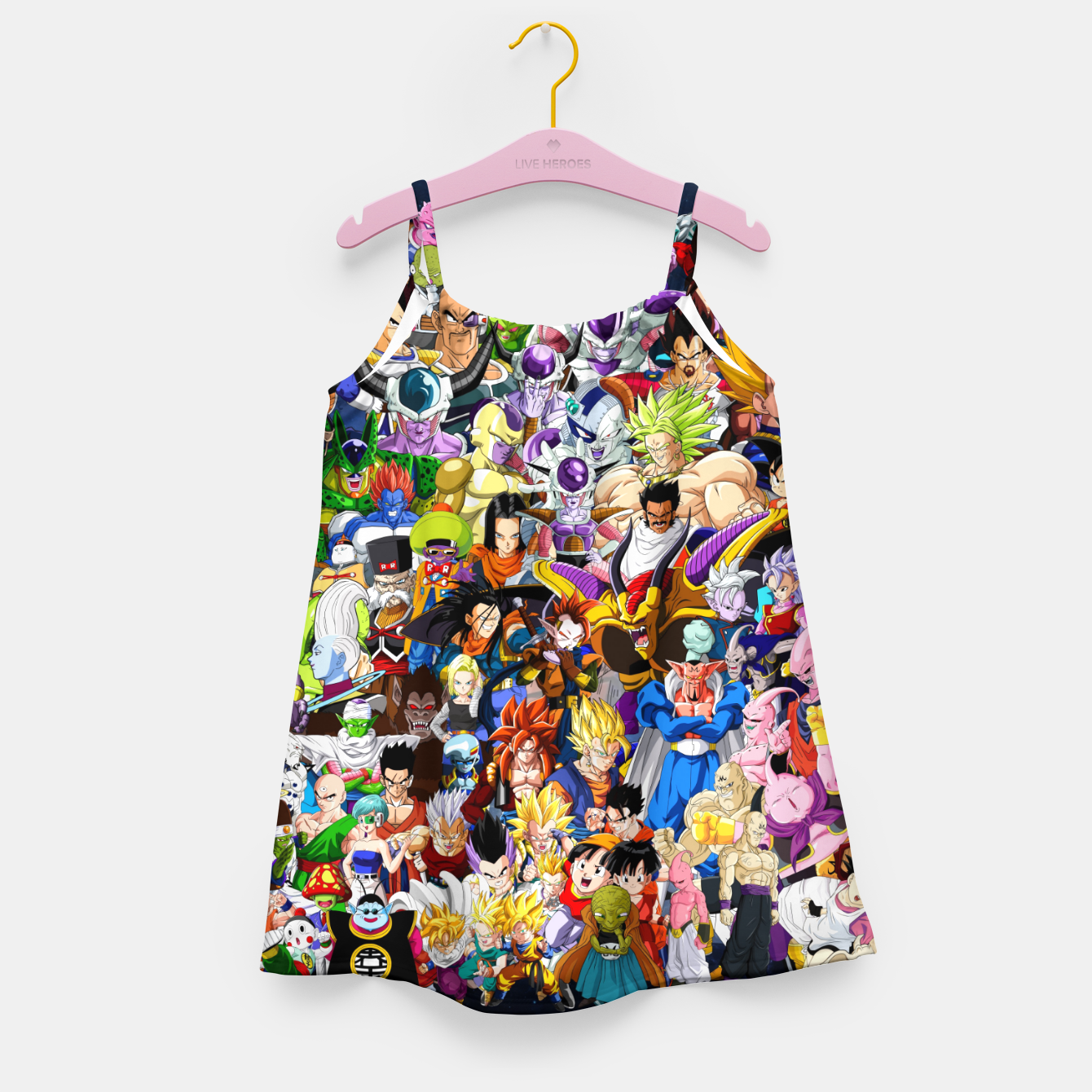 Image of DBZ Characters Girl's dress - Live Heroes