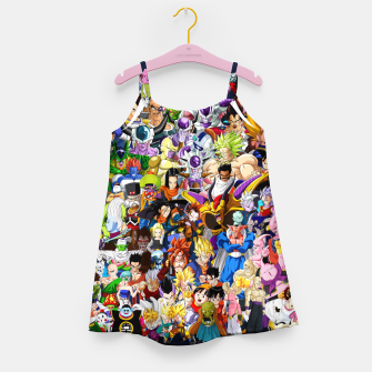 DBZ Characters Girl's dress thumbnail image
