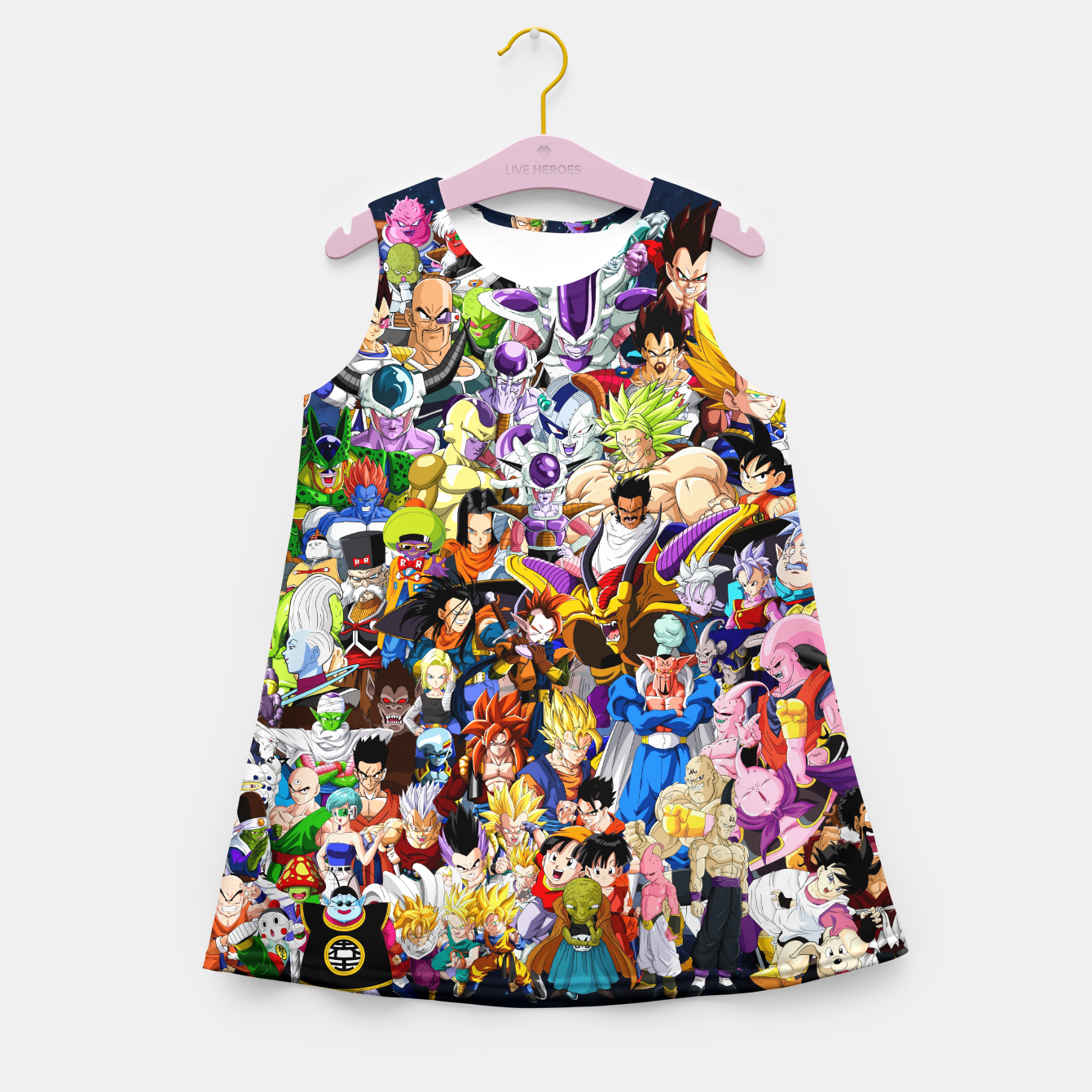 Image of DBZ Characters Girl's summer dress - Live Heroes