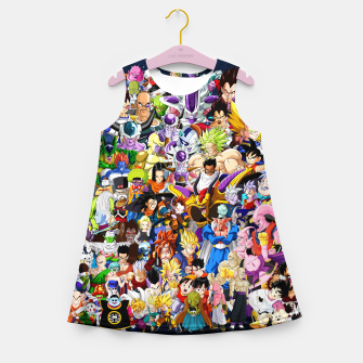 DBZ Characters Girl's summer dress thumbnail image