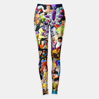 Thumbnail image of DBZ Characters Leggings, Live Heroes