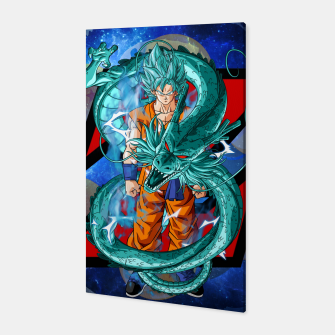 Thumbnail image of Dragon Ball Super Goku Super Saiyan Blue  Canvas, Live Heroes